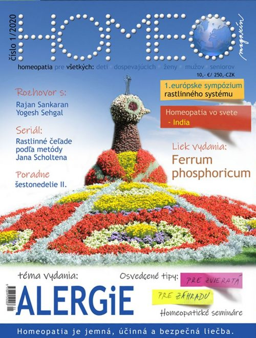 HOMEO magazín 1 2020 alergie